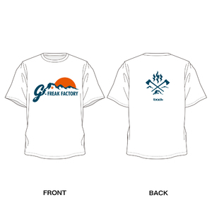 "G-FREAK FACTORY""SUNRISE""T-SHIRTS(ホワイト / ブラック / グレー)"