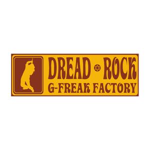 DREAD ROCKデカステッカー