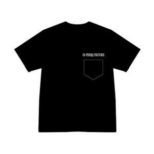 ビッグシルエット刺繍ポケットTシャツ