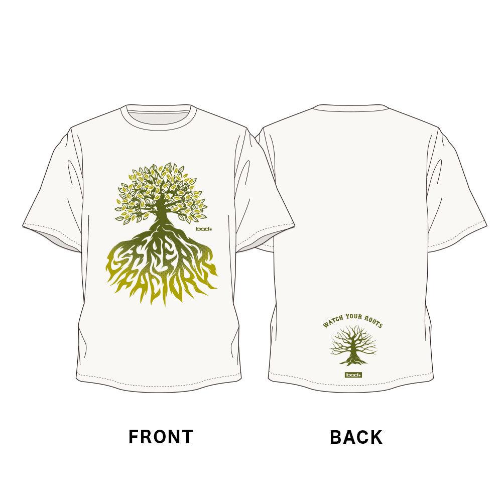 Watch your roots Tシャツ(ナチュラル / セージブルー / サンドカーキ / ライトピンク)